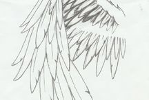 Angel wings tatoeage