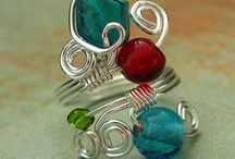 Jewelry-Wire Wrap-Rings