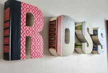 Letter gifts / Monogram gifts