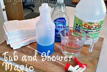 cleaning tricks  / by Courtney Haver