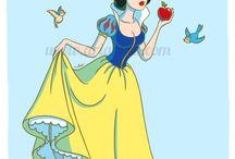 disney princess / by Loren Melgar