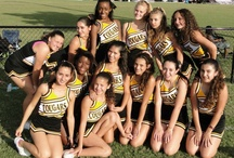 Cheer Squads We Cover / Over the corse of our fall season we not only cover the football players on the field but also the different cheer teams on the sideline as well.