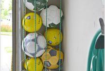 Oppbevaring baller