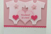 Baby Cards for Twins