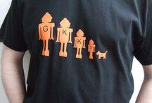 t-shirts etc.