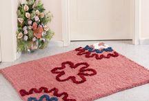 Halı ve Paspas ❤ Carpet and Rug / Halı ve paspas yapımına dair fikirlere ulaşabilir, malzemeler için Hobium.com'u ziyaret edebilirsiniz. ❤ For various carpet and rug making materials please visit Hobium.com