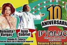 Aniversario Restaurante DToluca Cali / 10 Aniversario del Restaurante DToluca Granada. Próximamente Inauguración DToluca Ciudad Jardín  #Cali