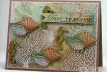 Ocean side, water cards / Water, fish, ocean critters