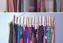 Schal aufhängen