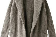 Knit coats