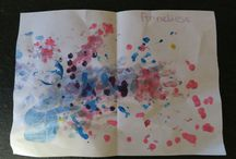 Anneliese Art / Works of art by my daughter.  Some of them become wrapping paper later. / by Shannon Tracey