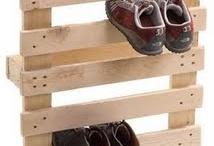shoe rack / by Yolanda Yamamoto