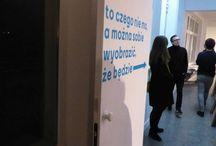 To czego jeszcze nie ma, a można sobie wyobrazić, że będzie / Gdańska Galeria Miejska 2; Spontaniczna prezentacja prac jeszcze nieukończonych.