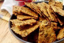 Crackers extra-croustillants et extra-sains aux graines