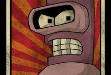 FUTURAMA (desde el siglo XXXI) / Futurama para siempre! ilustraciones, humor, e imágenes relacionadas al universo de FUTURAMA