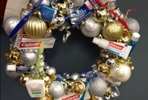 Dental Holiday Decorations / DIY holiday crafts and decorations with a dental theme