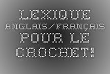 Crochet / On the hook / réalisations au crochet