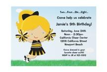 Cheerleading Birthday Party / by Kristi Stell