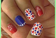 My nails / This is board for my maniqure.