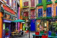 façades colorées