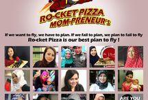 Ro-cket Pizza Mom-preneur