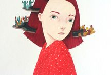Portraits Illustration //
