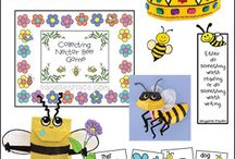 Bee Crafts and Learning Activities