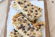 Granola Bars / Protein bars, granola bars, gluten free bars, vegan bars, healthy bars and snacks for kids - great for dessert, after workouts or for breakfast.