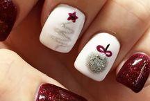 Arte de uñas de navidad