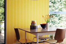 wallpaper feature dining room