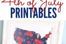Printables / A collection of printables for use with your Silhouette and other crafting pursuits
