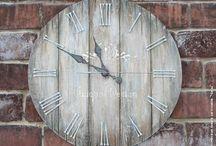 Дощечки часы