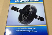Ab Wheel Roller by Workout Precision / We intoroduce new type of Ab Wheel Roller. Easy to use, comfortable and sturdy