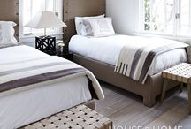 Guest Bedrooms / by House & Home