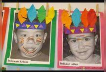 çocukların resimleri ile etkinlik