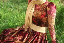 hijab floral dress