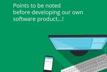 Points to noted before developing our own software Product! / Developing a software consists of several steps.