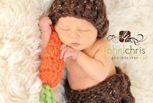Baby Bunny Hat Newborn Photo Prop Set Easter Rabbit  by lilianda