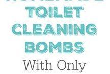 Para limpiar el toilet