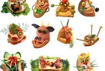 inspirace na zdobení potravin