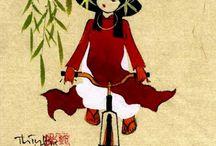 dessins vietnam