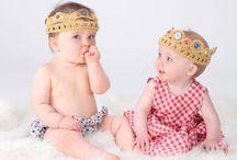 Crochet Crowns and Tiaras / Handmade crochet crowns for super regal babies and children