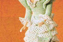 robe crochet barbie