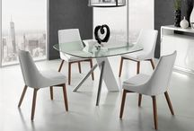 Modern Contemporary High Gloss White Lacquer Dining Table