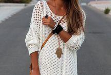 Пуловер вязаный