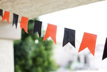 Holidays: The Best Birthday Party EVER / Two a year, a different theme for each kid--how could I NOT have a board for potential decorations, themes, and other miscellany?