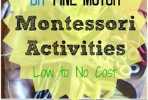 Fine Motor Activities For Kids / Activities and games to help kids with their fine motor development.