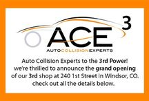 Grand Opening of Shop No. 3 Windsor, CO / Information about the grand opening of our third shop in Windsor, CO.  Windsor Collision Center is now, Auto Collision Experts.  240 1st Street.  (970) 674 9290.