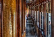 Train, ship, plane- mainly interiors