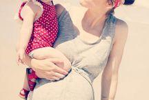 Retro Inspired Maternity photography